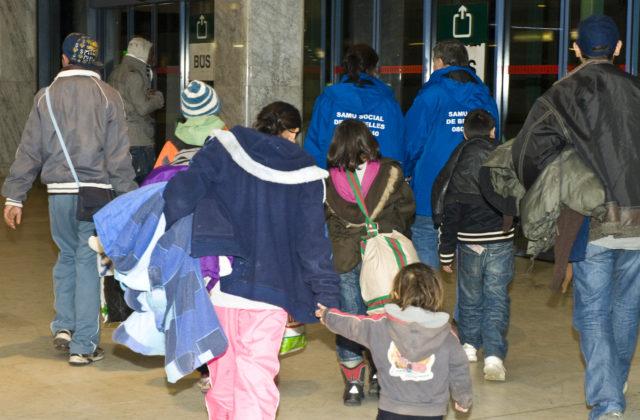 Le Samusocial, la Ville et le CPAS de Bruxelles poursuivent l'opération « grand froid – familles en rue »