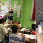 Steeds meer gezinnen in de centra van Samusocial : officiële presentatie van onze familie-winteropvangcentrum
