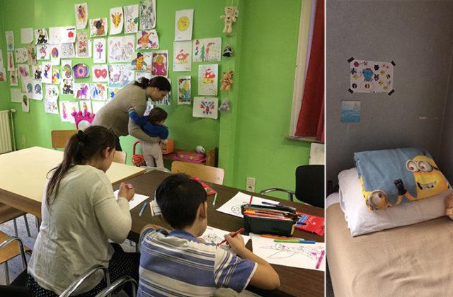 Toujours plus de familles dans les centres d'accueil d'urgence du Samusocial : l'importance d'un accueil adapté