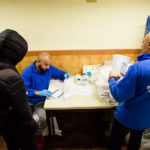 La nuit dernière, le Samusocial a hébergé 674 personnes, dont 292 personnes en famille.