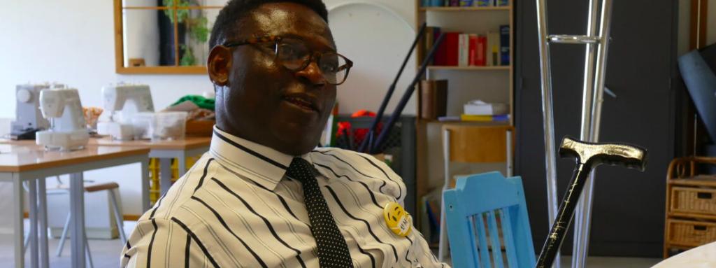 De l'Angola vers la Belgique, Josimar : doyen du centre pour demandeurs d'asile de Neder-Over-Heembeek