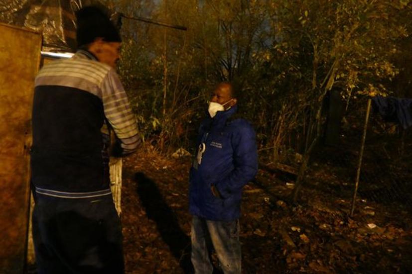 Mehdi : la vie dans un bois en périphérie de Bruxelles