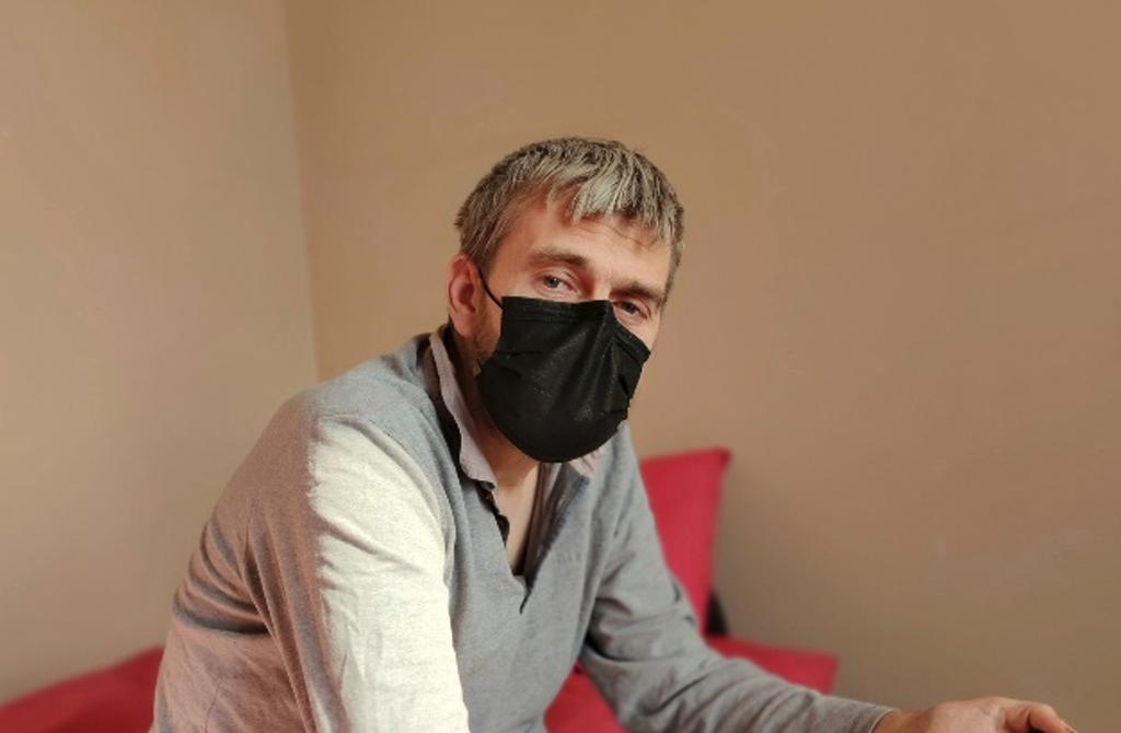 Christophe, relogé en appartement grâce au projet Issue