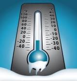 thermometre hiver