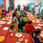 Op 24 december was de magie van Kerstmis ook bij Samusocial!