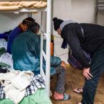 Koudegolf : alle mensen met een aanvraag tot opvang verwelkomt om 22uur