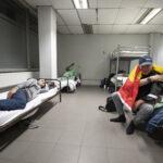 Dakloos maar wel in lockdown: het leven in het noodopvangcentrum Botanique