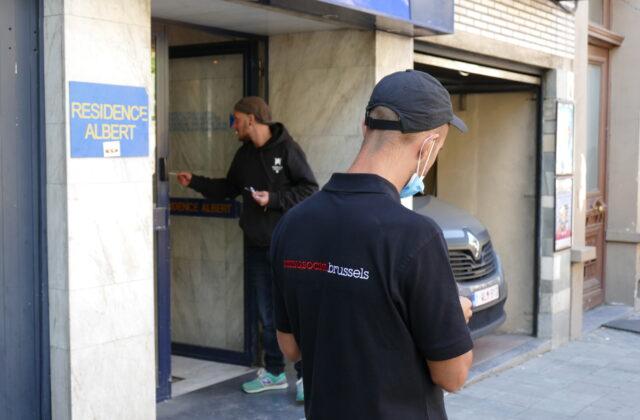 Noodopvang Covid19: Samusocial opent een centrum van 70 plaatsen in een hotel in Schaarbeek