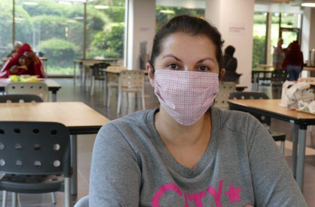 Het leven van de vrouwen in het verblijfcentrum aan de de Meeûssquare