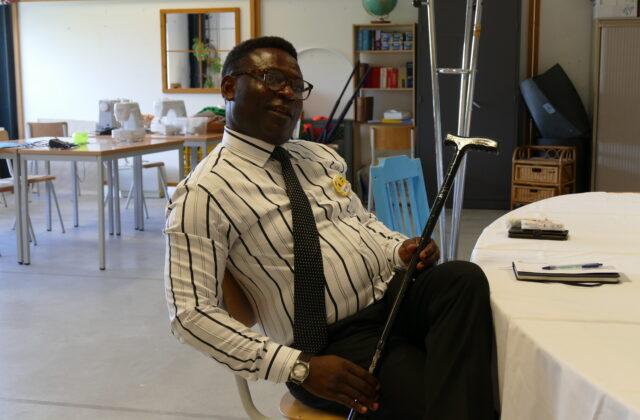 De l'Angola vers la Belgique, Josimar : doyen du centre pour demandeurs d'asile de Neder-Over-Heembeek.